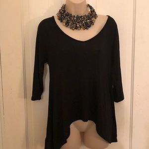 Cache top with gold chains S